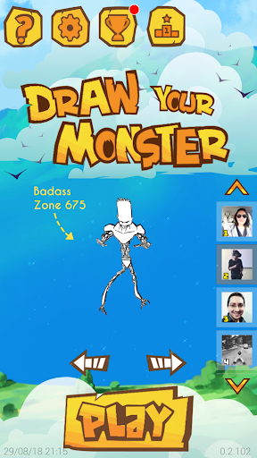 Draw Your Monster  captures d'u00e9cran 1