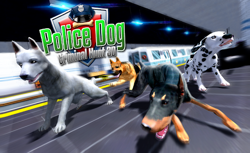 Police Dog Criminal Hunt 3D- screenshot thumbnail