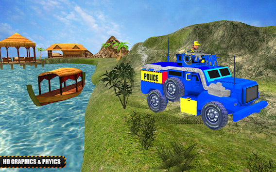 Offroad Police Jeep Simulator 2018
