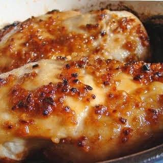 Cheesy Garlic Baked Chicken Recipes.