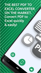 PDF to Excel Converter – Convert PDF to Excel 1