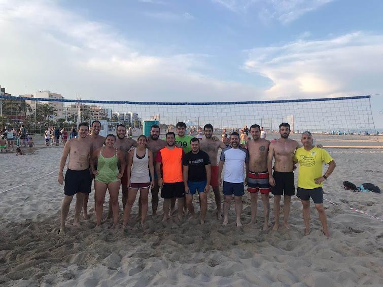 Torneo de Voley Playa de la Federación Junta Fallera de Sagunto.