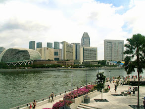 Photo: Merlion Park, Marina Bay