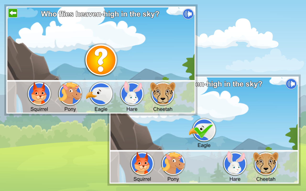 Kids Learn about Animals Lite- screenshot