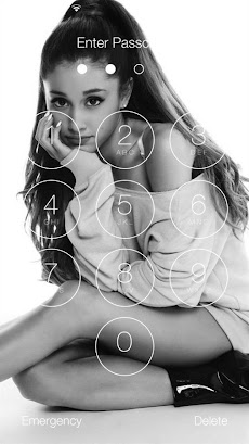 Ariana grande wallpaper slide unlock screen android applion ariana grande wallpaper slide unlock screen2 voltagebd Choice Image