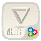 White GO Launcher Theme