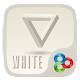 White GO Launcher Theme Download on Windows