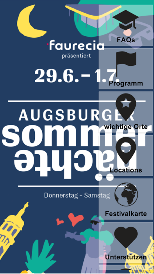Augsburger Sommernächte – Screenshot