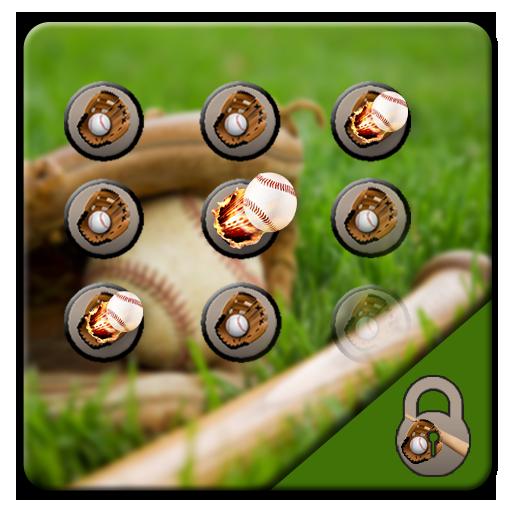 Baseball theme cool brave