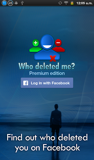 Who deleted me on Facebook? 1.7.4 screenshots 5