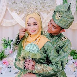 reception by Llurymhays Pwbs - Wedding Reception ( malay wedding )