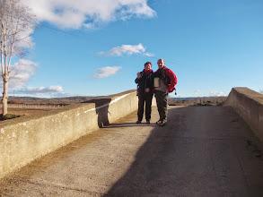 Photo: Christine et Michel sur le Pont de la Métairie