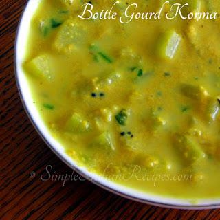 Sorakkai Kurma (Bottle Gourd Korma)
