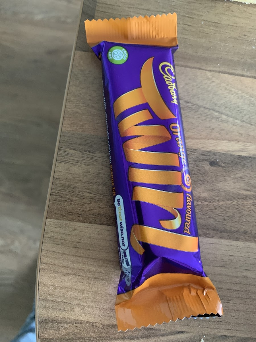 Orange Twirl