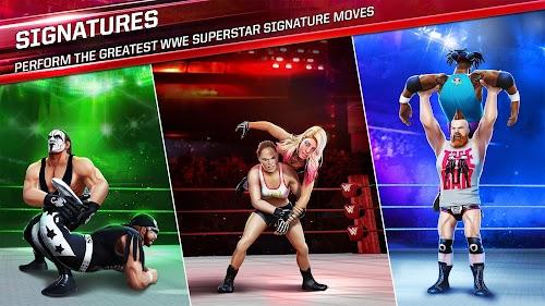 Screenshot 2 WWE Mayhem 1.15.398 APK+DATA MOD