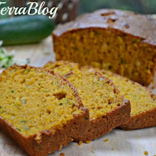 Pumpkin Zucchini Bread with Cardamom