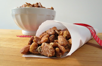 Photo: Candied Nuts - A rich, sweet mixture of nuts candied with sugar and flavored with cinnamon and salt.  http://www.peanutbutterandpeppers.com/2012/12/15/candied-nuts/#comment-12483  #nuts   #cashews   #almonds   #walnuts   #candiedwalnuts   #holidayrecipes   #sugar   #snack