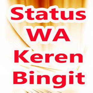 Status WA Keren Bingit - náhled