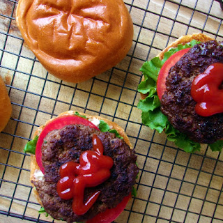 Homemade Juicy Burger Patties.