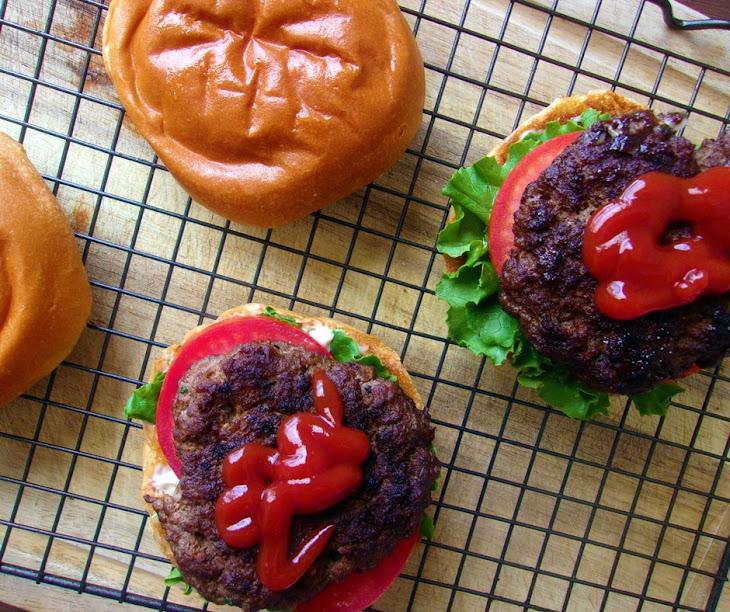 Homemade Juicy Burger Patties Recipe