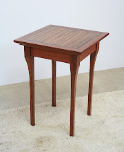 Photo: Side table - Paul Heard.  Sydney Blue Gum, New Age Veneer