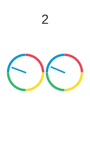 android Insane Wheel-Spinny Circle Screenshot 1