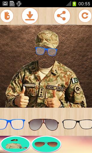 Latest Pak Army suit & Uniform changer editor 2018  screenshots 3