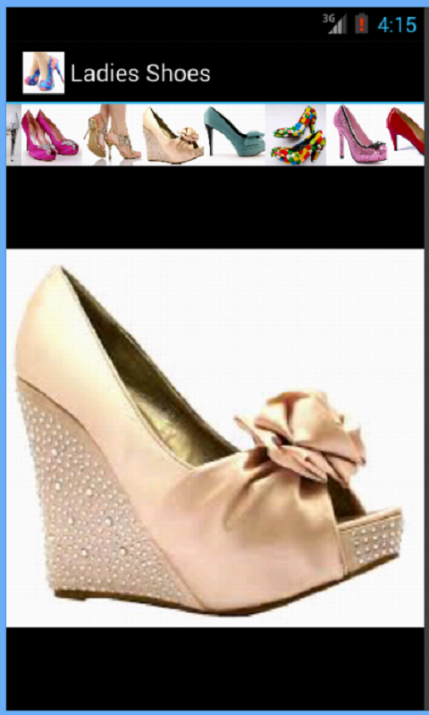 Скриншот Ladies Shoes Collection
