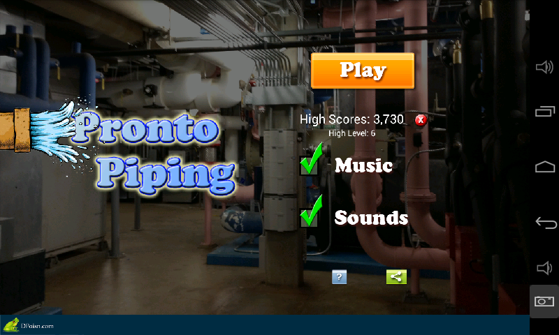 Pronto Piping- screenshot