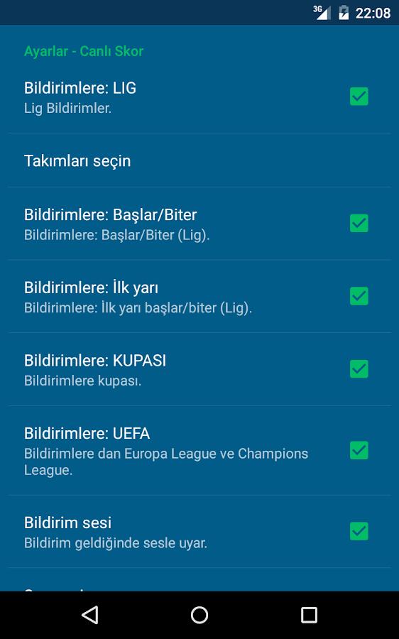 Süper Lig- screenshot