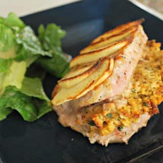 Stuffed Pork Chops with Apples.