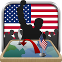 Simulator of USA icon