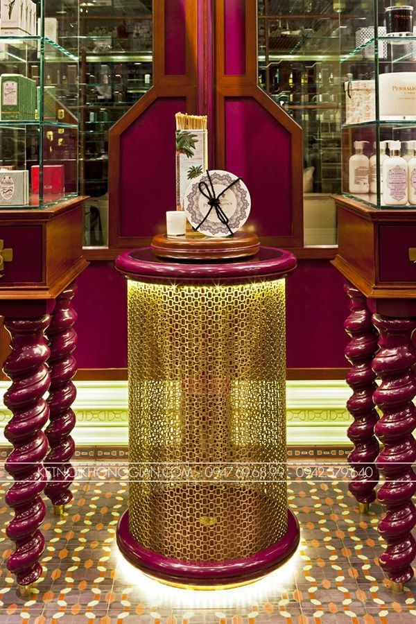 thiết kế cửa hàng nước hoa penhaligons 7