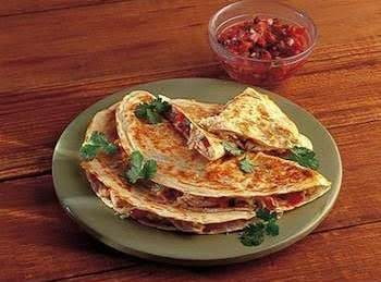 Party Quesadillas With Jalapeno Jack And Fresh Chard Recipe