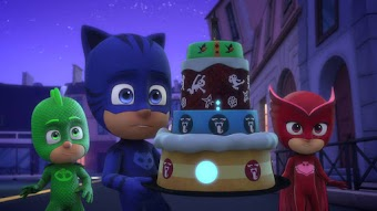 Catboy and the Great Birthday Cake Rescue / Gekko and the Snore-A-Saurus