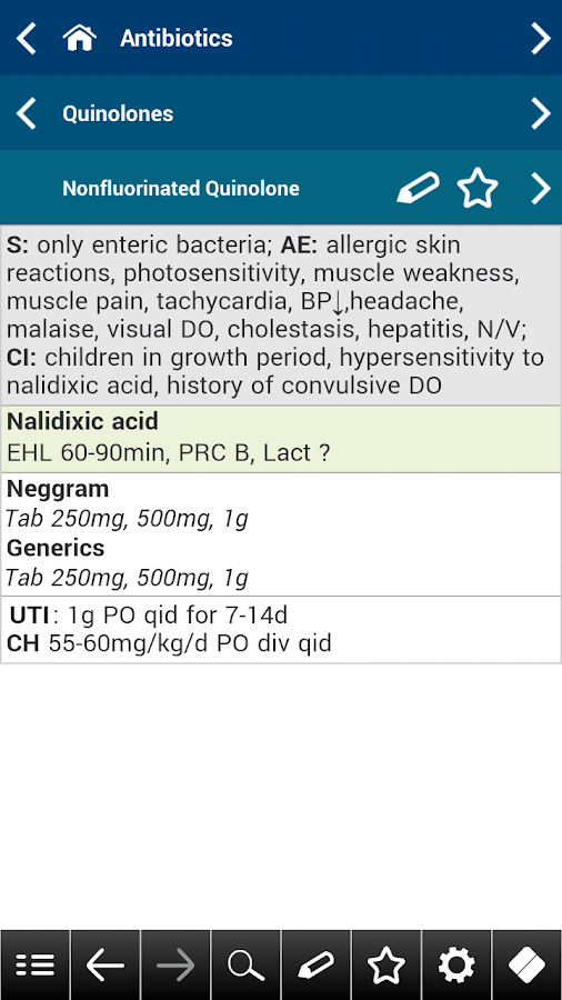 Antibiotics pocket- screenshot