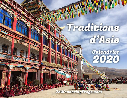 Calendrier 2020 - Traditions d'Asie.