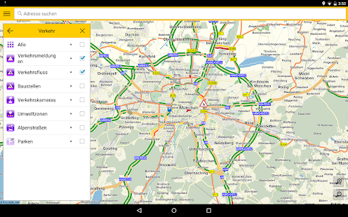 ADAC Maps für Mitglieder- screenshot thumbnail