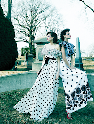 Fashion editorial featuring looks from Andrew GN and Rene Caovilla.
