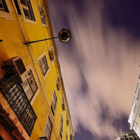 Light Lisbon by Rui Catarino - Buildings & Architecture Office Buildings & Hotels ( cidade, sky, bildings, night, lisbon, light, lisboa, city, nocturno )