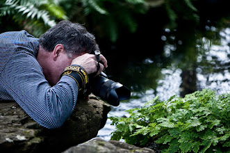Photo: just another day at the botanical gardens (actually yesterday, didn't make it that far today), shooting photographers shooting plants  +Rodney Campbellrockin the D600 with a 35 mm as a macro :)