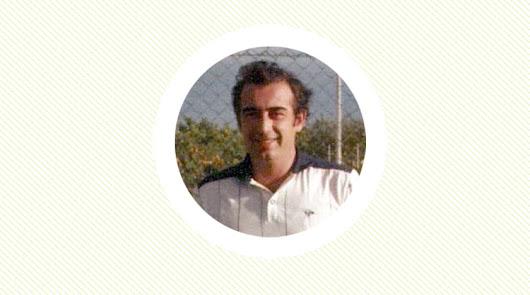 Fundador del Club Indalo e incondicional de su Almería