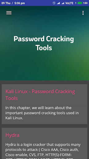 Learn Kali Linux 2.1 screenshots 3
