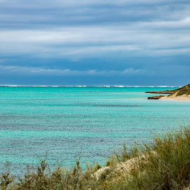 50 shades of blue by Clarissa Human - Landscapes Beaches ( water, blue, calm oceans, landscape photography, ocean, beach, landscape,  )