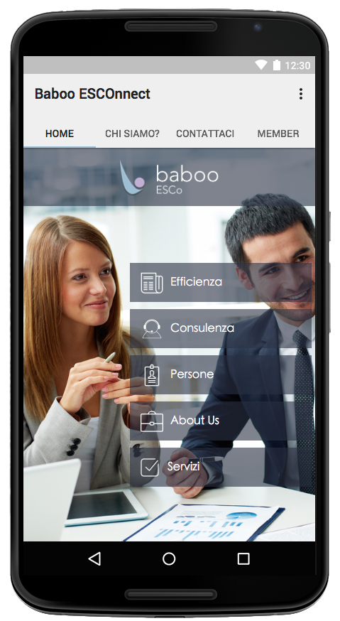 Baboo ESCOnnect- screenshot