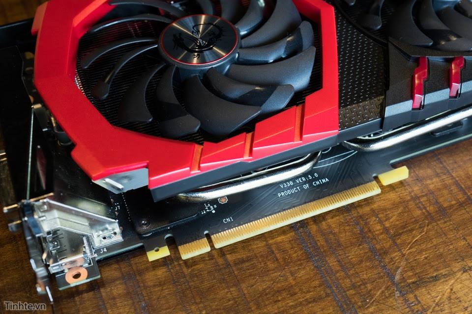 Đánh giá card màn hình MSI GTX 1070 GAMING X: Thiết kế ngầu, hiệu