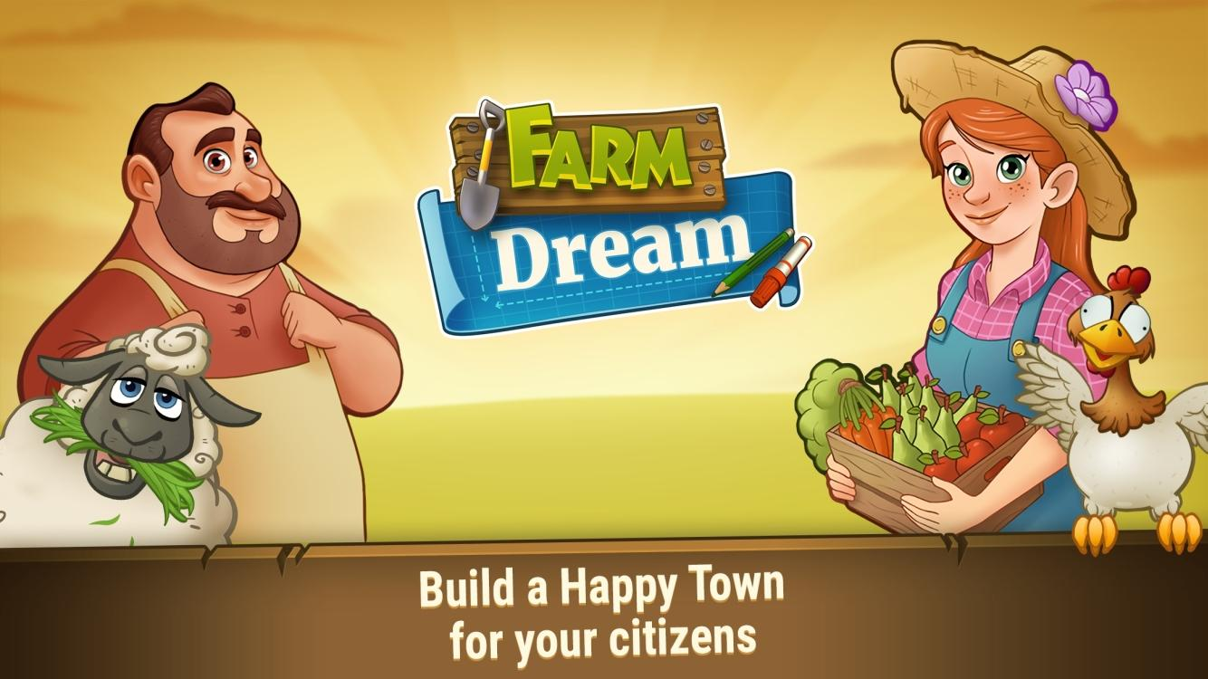 Farm Games: Farm Dream - Harvest Town Farming Day- screenshot