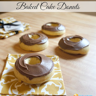 Simple Homemade Cake Donuts