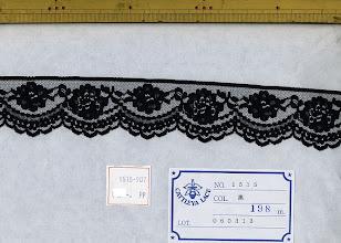 Photo: №1515-907ラッセル黒:巾40mm