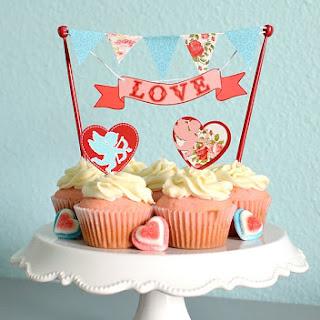 Pink Velvet Cupcakes.